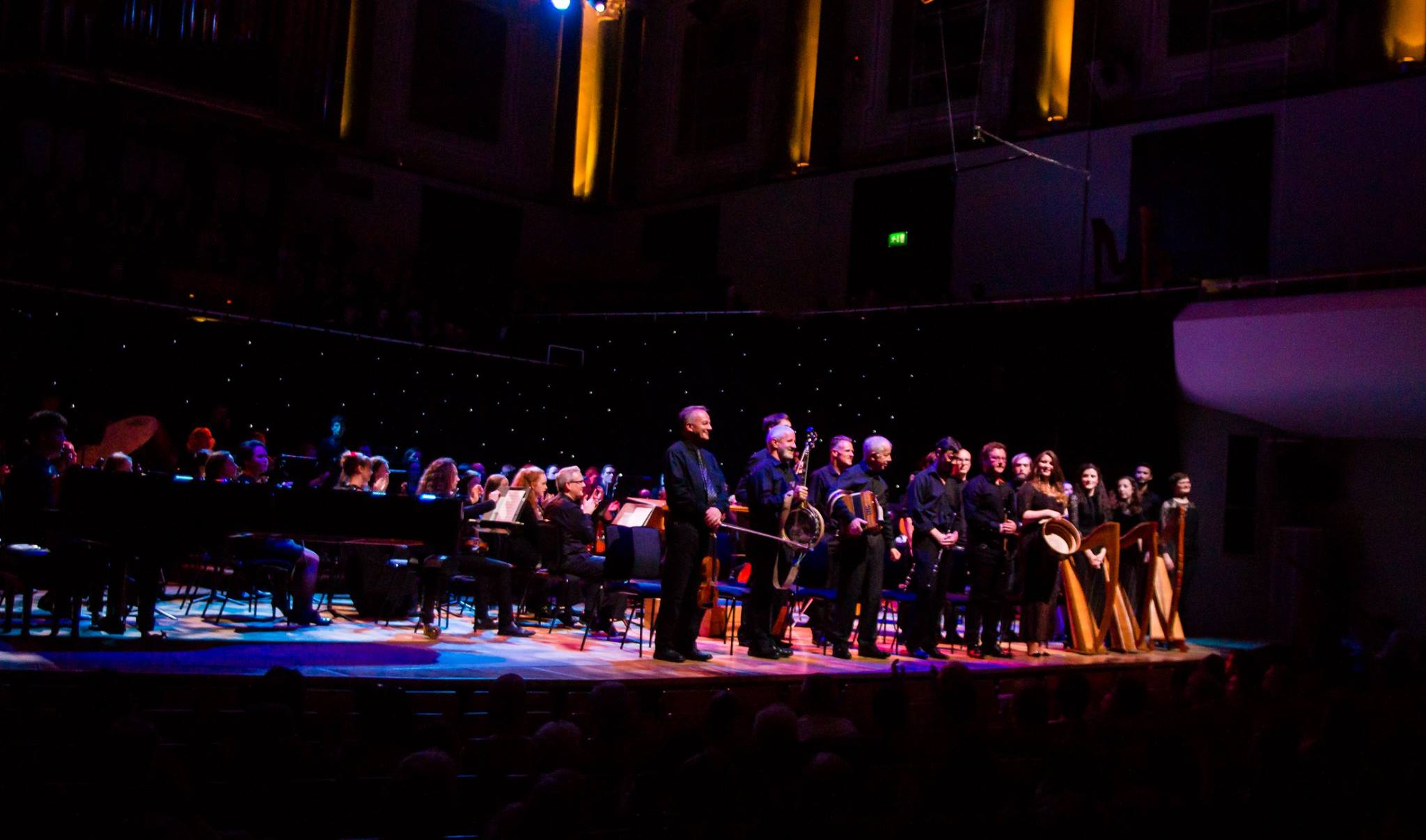 Performance of Lyric FM Composer in Residence Linda Buckley's 'Solas Na Gealai Bui' at the National Concert Hall Dublin