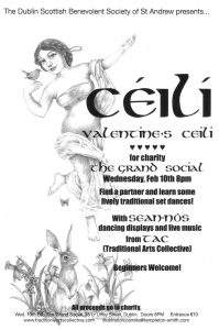 Valentines Ceili with TAC